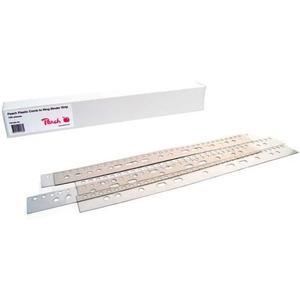 Abhelftstreifen für Plastikbinderücke 100 Stk.