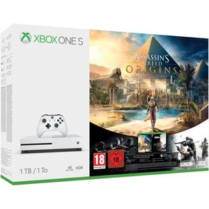 Xbox One S Konsole 1TB + Assassin Creed Origins + Rainbow Six