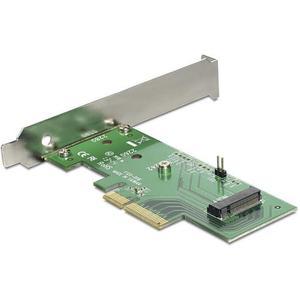 PCI Express x4 Karte > 1 x intern NVMe M.2 Key M 80 mm