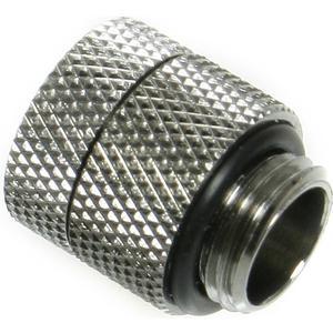 Adapter G1/4 Zoll auf IG 1/4 Zoll - Anti Twist - Shiny Silver