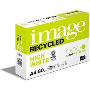 Image Recycled Universalpapier A4, hochweiss, 80g/m², Packung à 500 Blatt