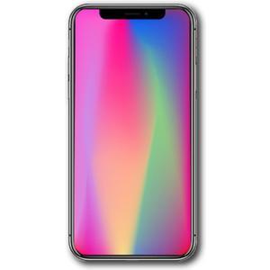 iPhone X - 256GB - silber