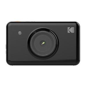 Sofortbildkamera MiniShot schwarz inkl. 8er Kassette