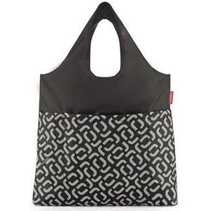 Einkaufstasche mini maxi shopper PLUS, 20 l, signature black