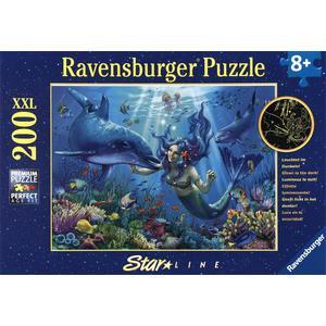 Leuchtendes Unterwasserparadies - Puzzle [200 Teile]