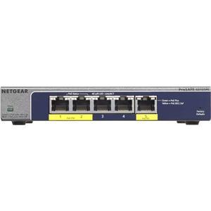 GS105PE ProSafe Plus (5-Port Gigabit, 22W PoE)