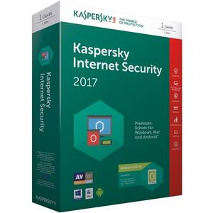 Internet Security 2017 + Android Security (Code in a Box), 1 Device, 1 Jahr, Deutsch, Win/Mac/Android/iOS