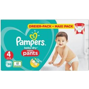Baby Dry Pants Gr. 4 Maxi 9-15kg Maxi-Pack