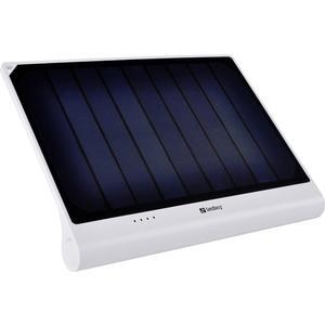 Solar Power Bank XL 5000mAh - weiss/schwarz