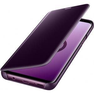 Clear View Standing Cover für Galaxy S9+ - violett