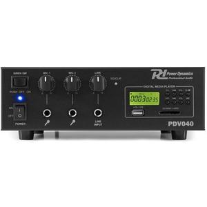 PDV040 100V-12V Verstärker 40W, MP3