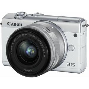 EOS M200 Kit (15-45mm) - weiss - Import