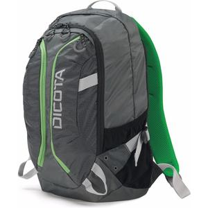 "Backpack Active 14""-15.6"" grau/grün"