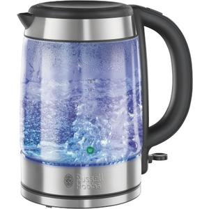 Glass Wasserkocher - Edelstahl-Glas