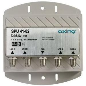 DiSEqC Switch 4/1 mit Wetterschutzgehäuse - SPU 41-02