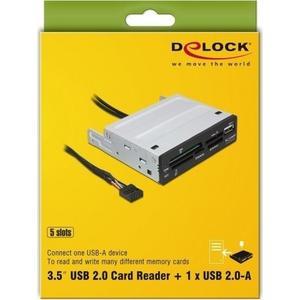 USB 2.0 CardReader All in 1 91674