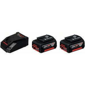Starter-Set 2x GBA 18V 5,0 Ah + GAL 1880 CV