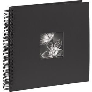 """Spiralalbum """"Fine Art"""" 36x32/50 - schwarz"""