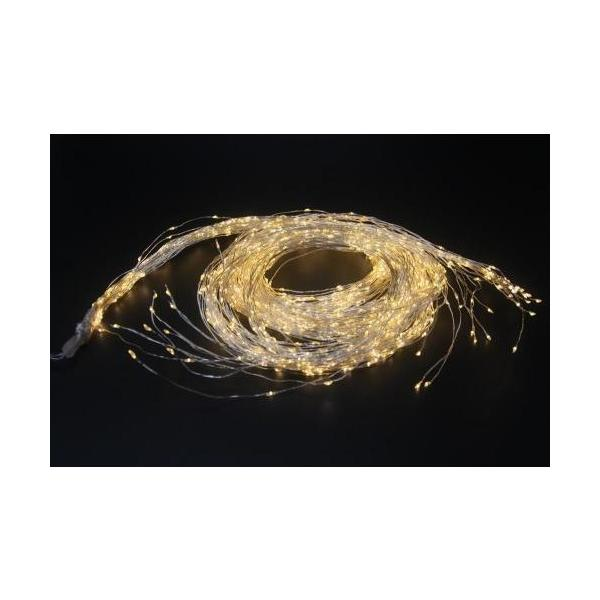 LED-Angel Hair, 1440 LED 45 Stränge, L: 3m, Outdoor mit Timer