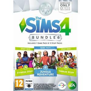 The Sims 4 - Bundle 6 [DVD] [PC] (D/F/I)