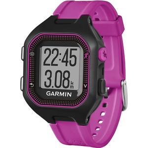 Forerunner 25 GPS-Sportuhr - schwarz/violett