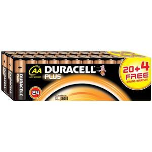 Plus Power, Typ AA/LR6, 1.5V, Alkaline - 20er + 4 gratis Sonderpack