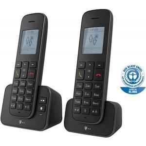 Sinus A207 DUO Schnurlostelefon mit AB schwarz