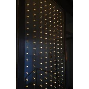 Lichtervorhang Moon Light 1.05x2.5m Netzbetrieb, Kabel: 5m, 3x verlängerbar
