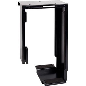 PC-Tower Halter Untertisch, starr, schwarz