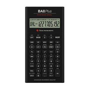 TI-BA II PLUS Professional Finanzmathematischer Rechner