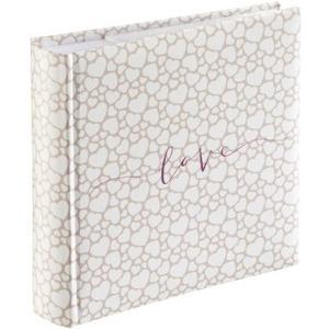 Memo-Album Romance, für 200 Fotos im Format 10x15 cm, weiße Seiten