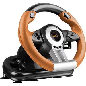 Drift O.Z. Racing Wheel PC - schwarz/orange