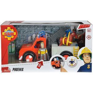Feuerwehrmann Sam: Phoenix mit Figur und Pferd