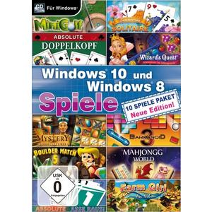 Windows 10 und Windows 8 Spiele - Neue Edition (PC) (DE)
