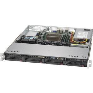 5019S-M: LGA1151 bis 64GB RAM, 4x 3.5 hot swap Drive Bay