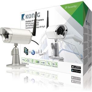HD Unbewegliche IP-Kamera aussen 720P Metall