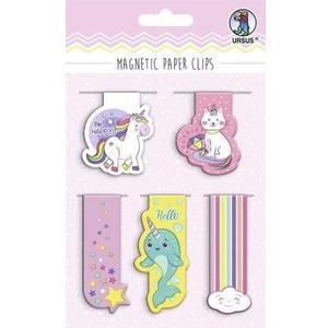 Haftmagnet Paper Clips Magic 6 verschiedene Designs