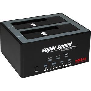 """2.5"""" / 3.5"""" SATA HDD/SSD Docking Station, USB 3.2 Gen 1, HDD-Clone-Funkti"""