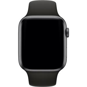 Watch Series 4 GPS + Cellular (Aluminium) space grau - 44mm - Sportarmband schwarz
