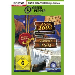 Green Pepper: Anno 1503 + Anno 1602 Königsedition [PC] (D)
