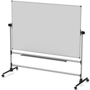 Whiteboard 150 x 120 cm Emaille-Oberfläche, mit Aluminiumrahmen