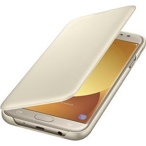 Wallet Cover für Galaxy J7 (2017) - gold