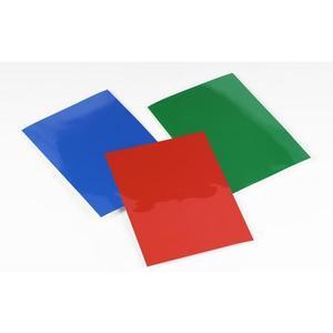HiGloss Umschlagmaterial blau/weiss innen matt, 250g/qm, 100Stk.