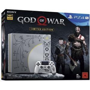 Playstation 4 Pro 1TB, inkl. God of War Limited Edition - grau