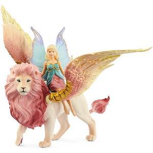 Bayala - Elfe auf geflügeltem Löwe