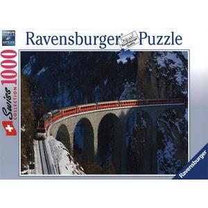 Swiss Collection: Landwasserviadukt - Puzzle [1000 Teile]