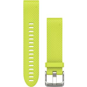 QuickFit Silikonarmband 20mm für Fenix 5S - gelb