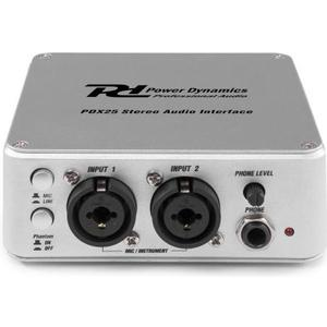 PDX25 USB Audio Interface, 2 RCA