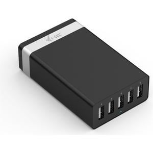 USB Smart Charger, 5-Port, 40W