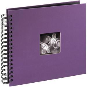 """Spiralalbum """"Fine Art"""" 28x24/50 - violett"""